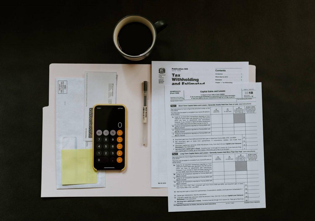 tlačivo z daňového úradu